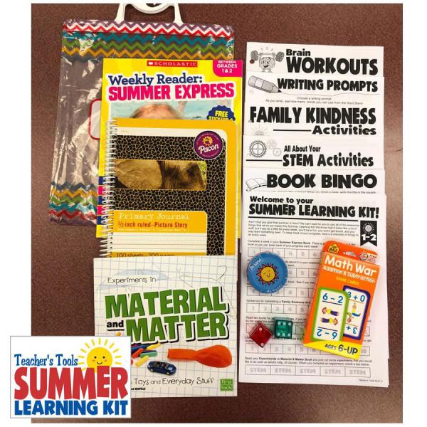 Summer Learning Kit-Between Grades 1 & 2