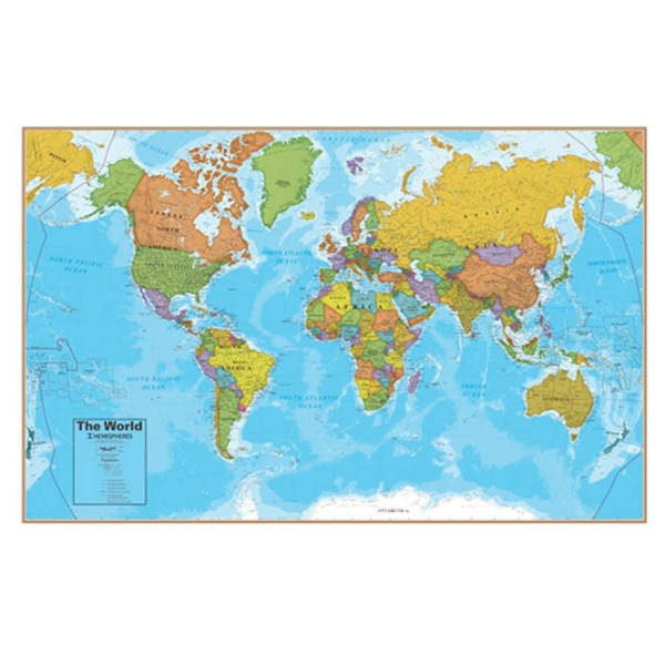ScrunchMap of the World