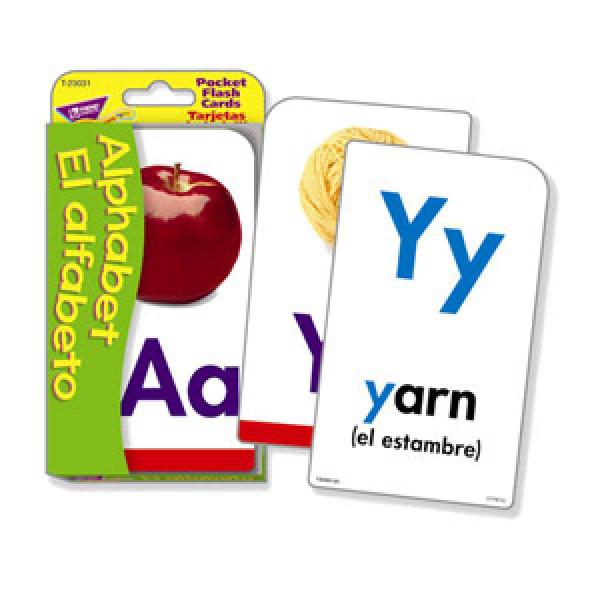 Alphabet Bilingual Flash Cards