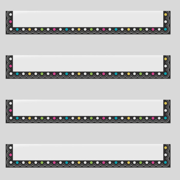 Chalkboard Brights Magnetic Pocket-Large
