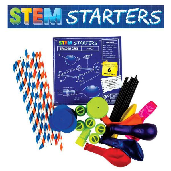 STEM Starters: Balloon Cars