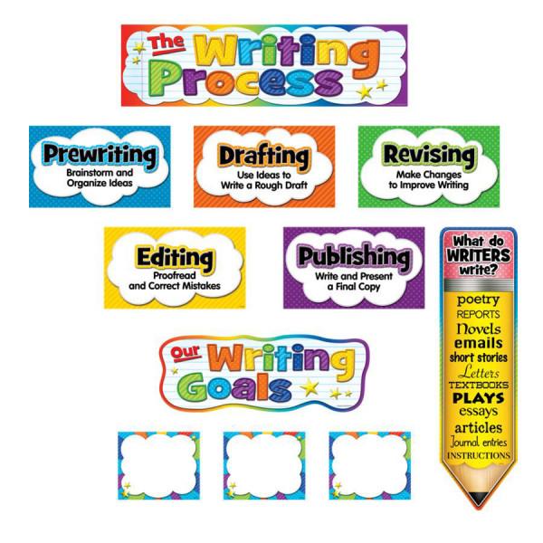 The Writing Process Mini Bulletin Board
