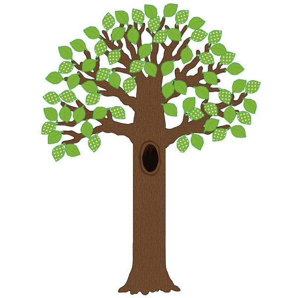 Big Tree with Polka Dot Leaves