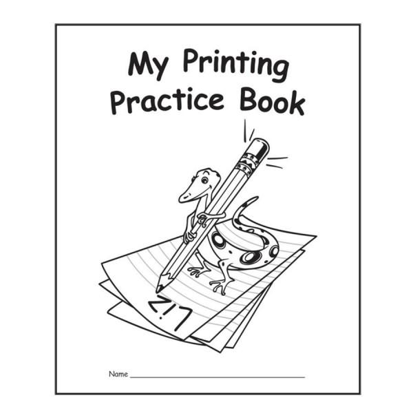 My Printing Practice Bookk