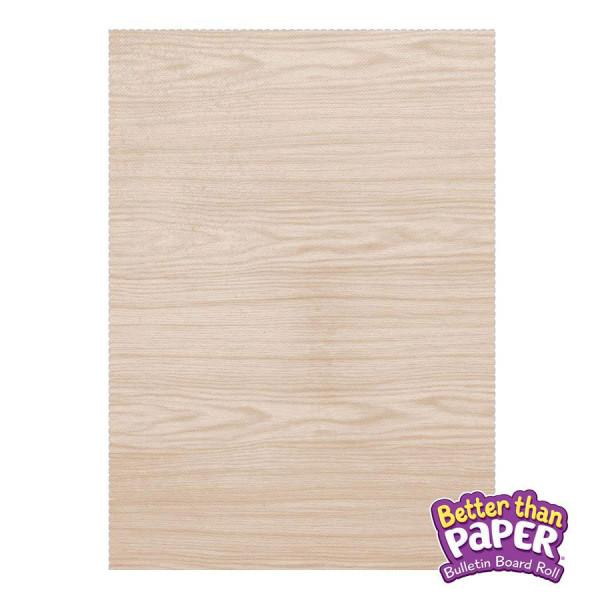 Light Maple Better Than Paper Roll