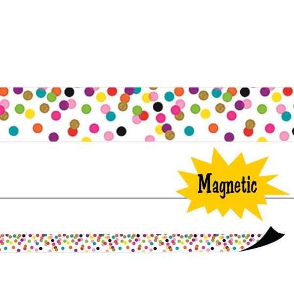 Confetti Magnetic Border