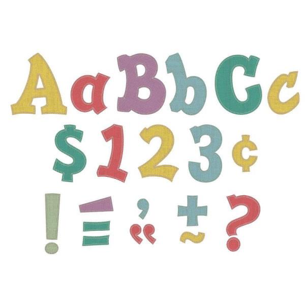 "Shabby Chic 5"" Sassy Letters"