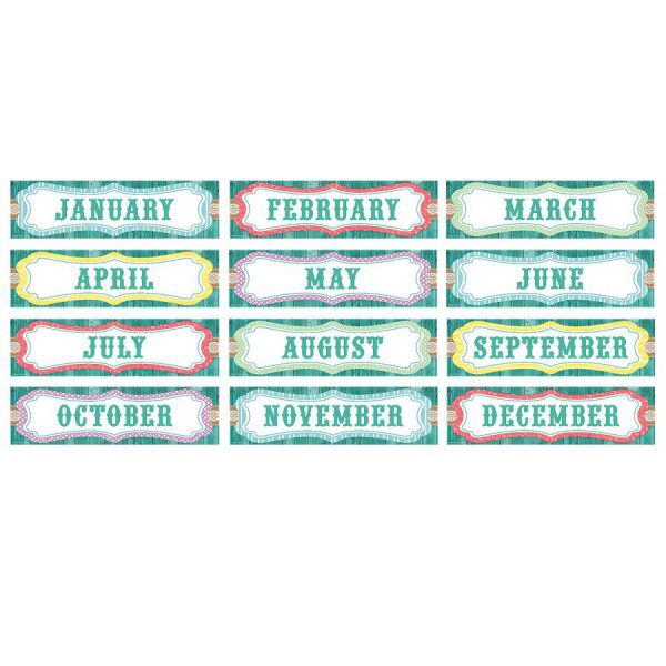 Shabby Chic Monthly Headliners
