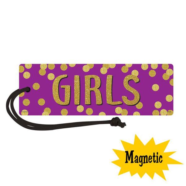 Confetti Magnetic Girls Hall Pass