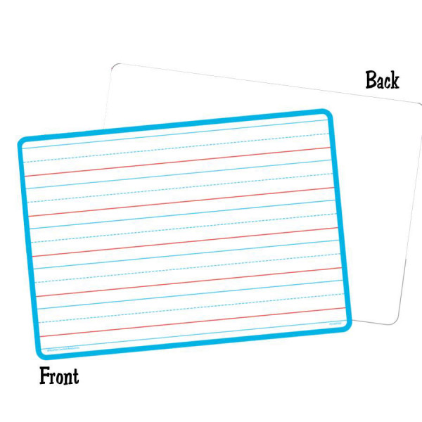 2-Sided Lined/Blank Dry Erase Board