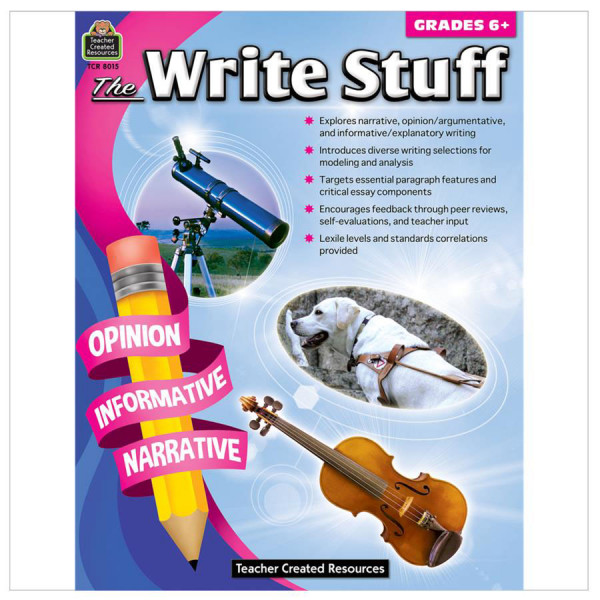 The Write Stuff Book-Grade 6+