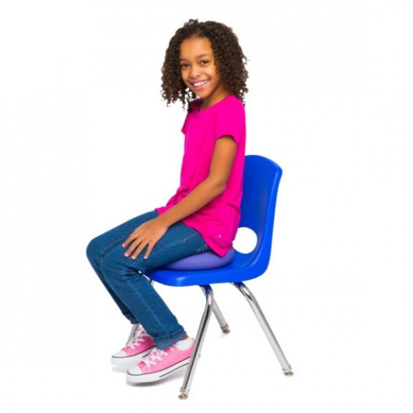 Blue 27cm Wiggle Seat, Little Sensory Cushion