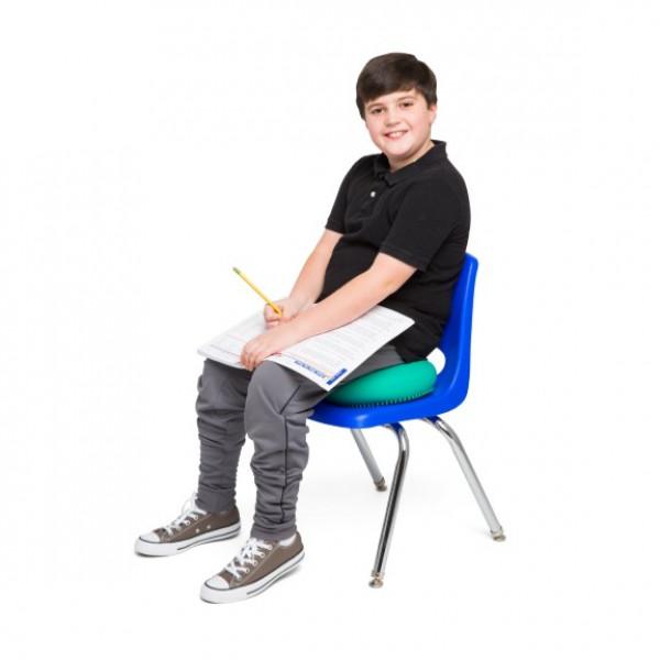 Blue 33cm Wiggle Seat, Big Sensory Cushion