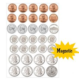 are coins magnetic