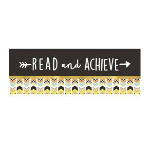 Aim High Read and Achieve Bookmarks