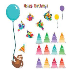 One World Birthday Mini Bulletin Board