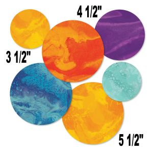 Galaxy Planets Assorted Cut-Outs