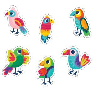Parrots Cut-Outs