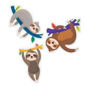 Sloths Cut-Outs