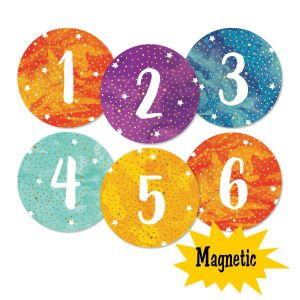 Galaxy Magnetic Numbers