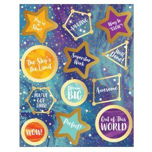 Galaxy Motivational Stickers