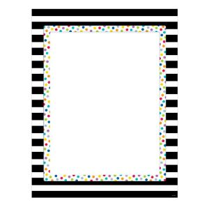 Bold & Bright Blank Poster