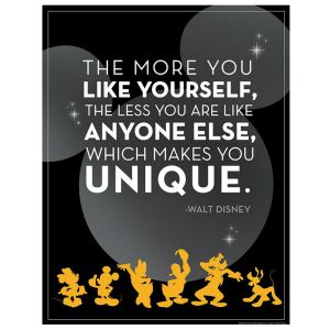 Mickey Mouse Unique Poster