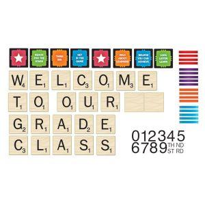 Scrabble Welcome To Our Class Mini Bulletin Board