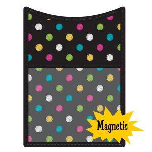 Chalkboard Brights Magnetic Storage Pocket