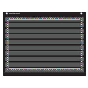 Chalkboard Brights Mini Pocket Chart