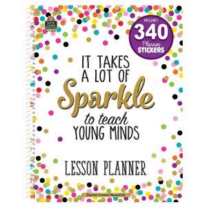 Confetti Lesson Plan Book