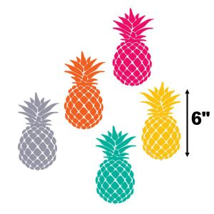 Tropical Punch Pineapple Cut-Outs