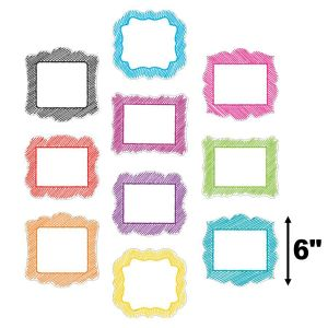 Scribble Frames Cut-Outs