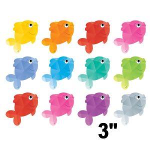 Colorful Fish Mini Cut-Outs