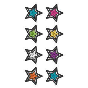 Chalkboard Brights Stars Mini Stickers