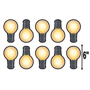 Light Bulb Cut-Outs
