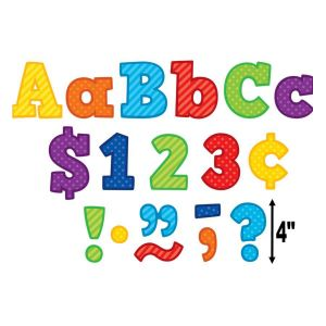 Playful Patterns Bold Block Combo Letters 4