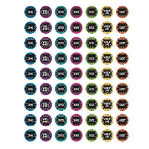 Chalkboard Brights Mini Stickers