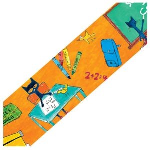 Pete the Cat School is Cool Border