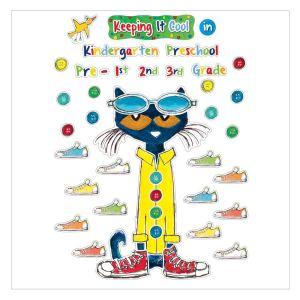 Pete the Cat Keeping It Cool In... Bulletin Board