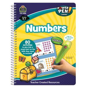 Numbers Power Pen Learning Book K-1