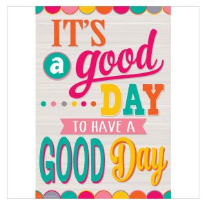 Tropical Punch It's A Good Day Positive Poster
