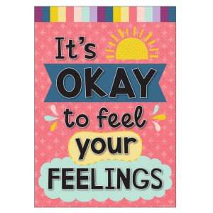 Oh Happy Day Okay To Feel Feelings Positive Poster