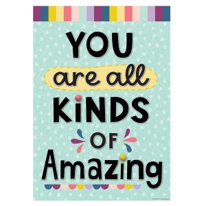 Oh Happy Day You Are Amazing Positive Poster