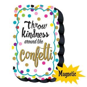Confetti Magnetic Whiteboard Eraser