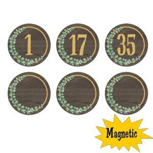 Eucalyptus Magnetic Numbers