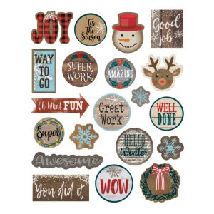 Home Sweet Classroom Winter Stickers