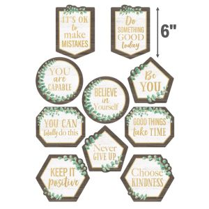 Eucalyptus Positive Sayings Cut-Outs