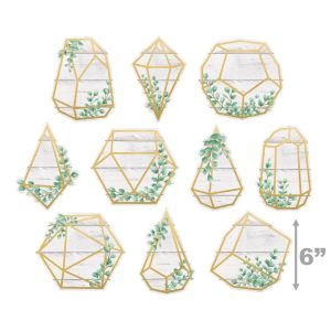 Eucalyptus Geometric Terrariums Cut-Outs