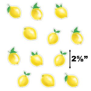 Lemon Zest Small Cut-Outs